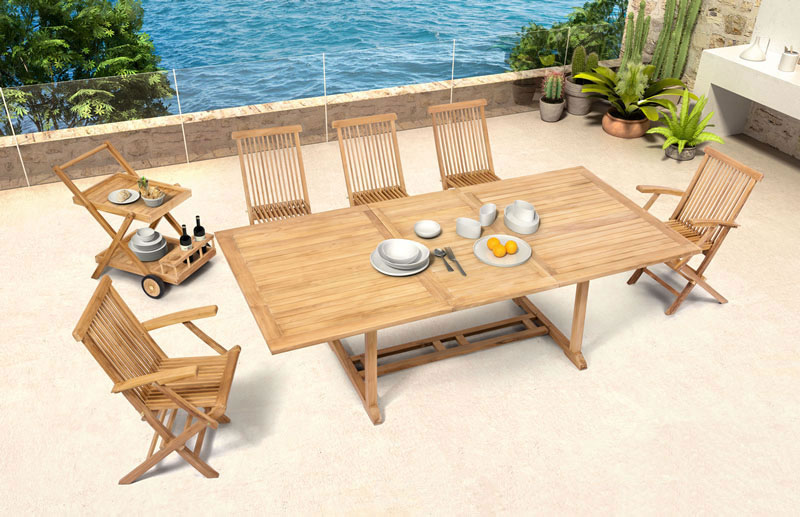 Reilly Modern Outdoor Furniture Collection