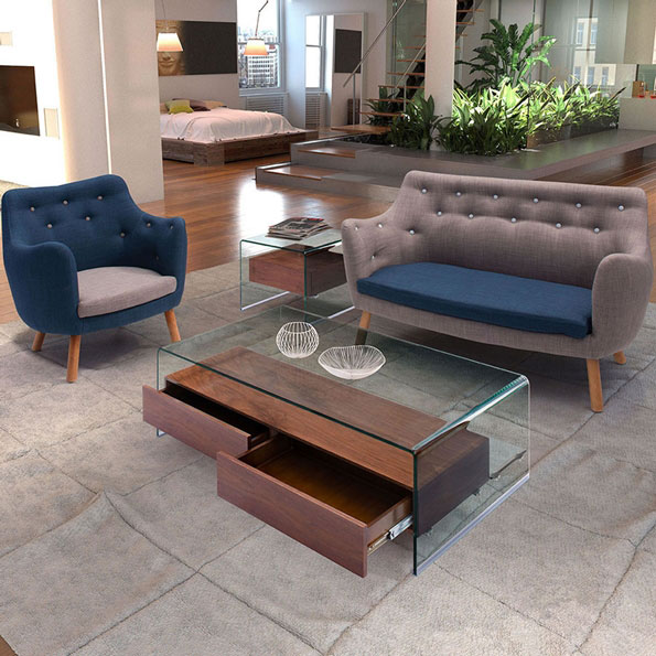 Saxon Contemporary Occasional Tables