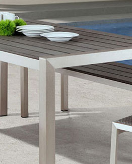 Melun Modern Outdoor Dining Table