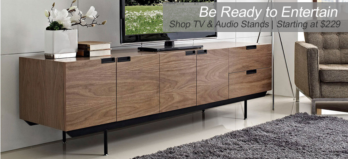Modern Tv and Audio Stands