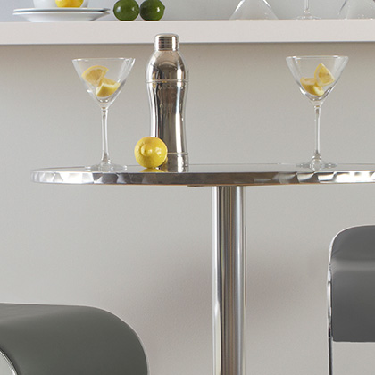 Modern Bar Height Tables + Contemporary Home Bars