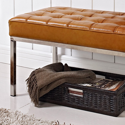 Modern Ottomans, Benches and Footstools