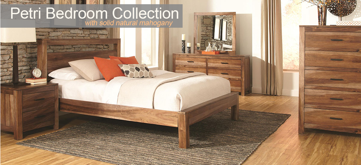 Petri Contemporary Bedroom Set