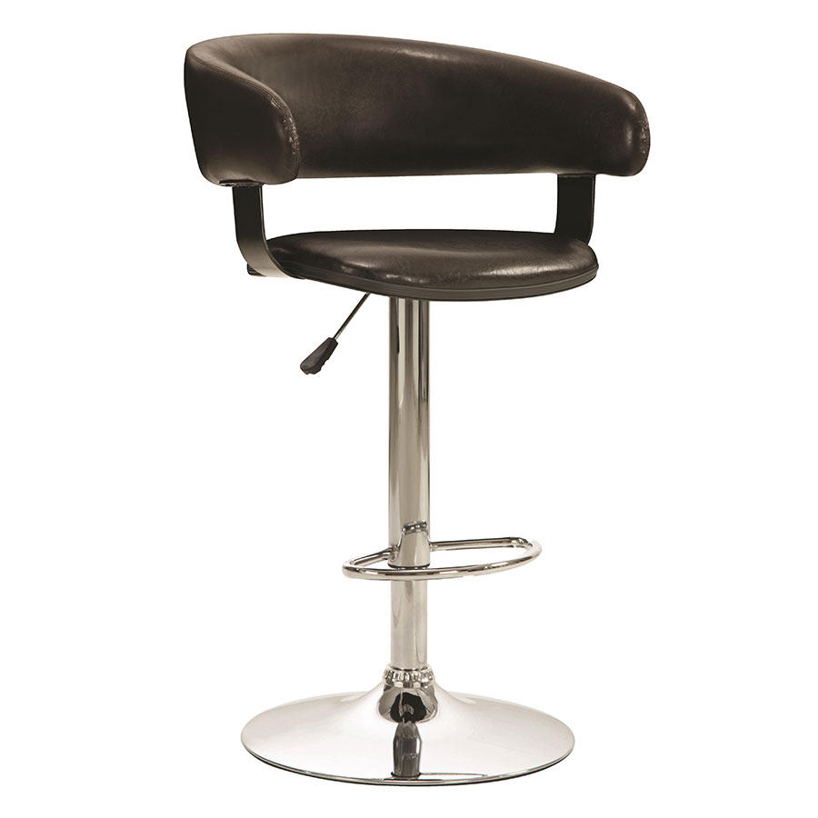 Aarne Brown Adjustable Modern Bar Stool