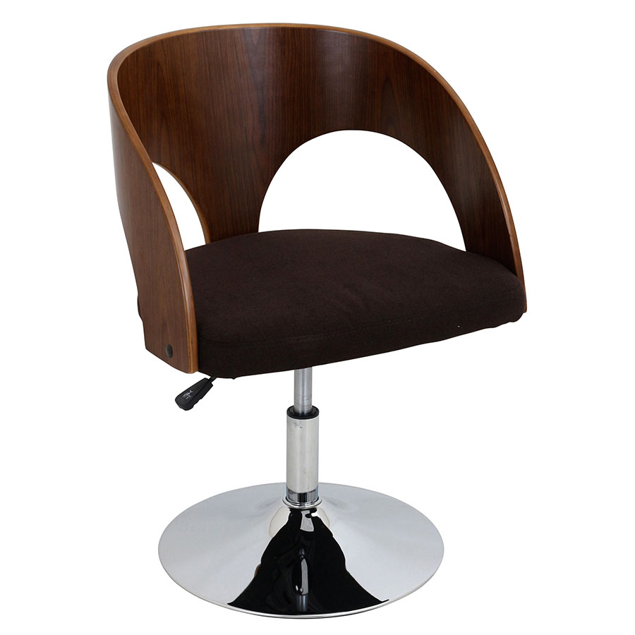 Abu Brown Modern Adjustable Chair