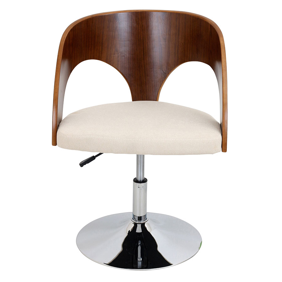 Abu Cream Contemporary Adjustable Chair