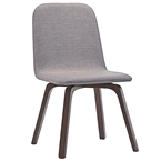 Acclaim Contemporary Gray Dining Chair
