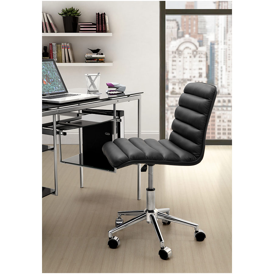 Adam Modern Office Chair in Black