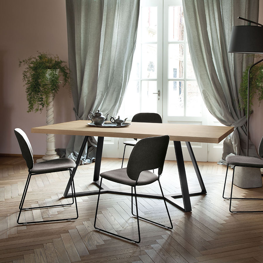 Adena Oak Modern Dining Table