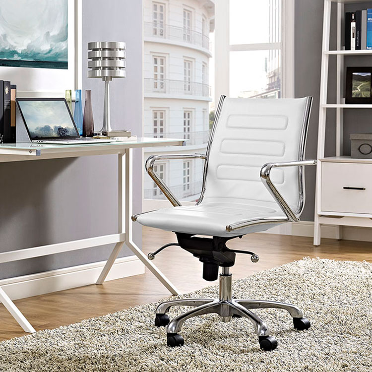 Advance Contemporary White Office Chair