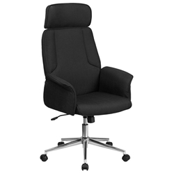 Affiliate Modern High Back Black Executive Office Chair