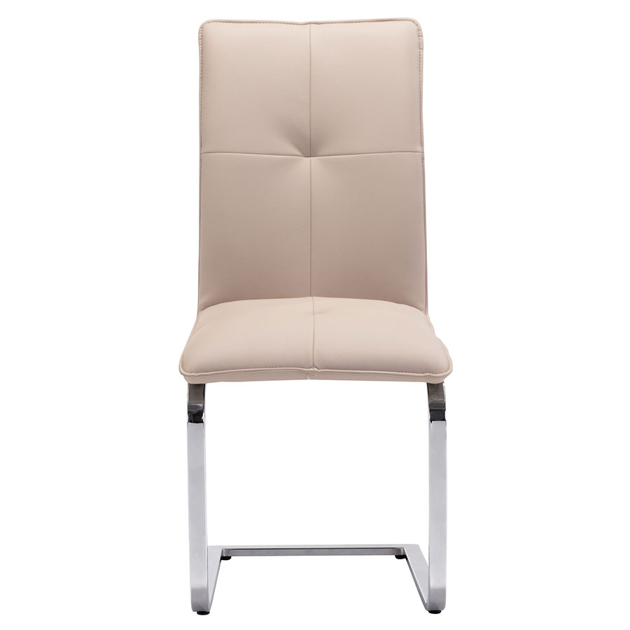 Agda Taupe Contemporary Dining Chair
