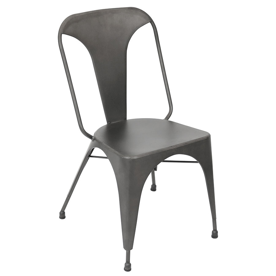 Ajax Gray Modern Dining Chair
