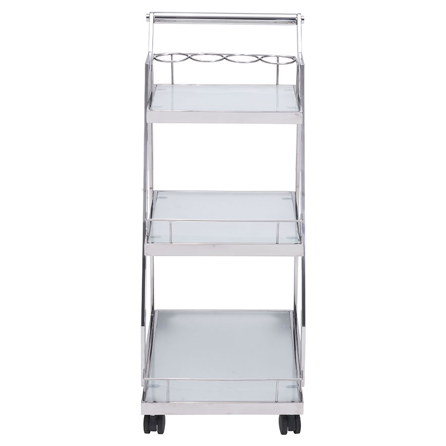 Alanis Contemporary Serving Cart