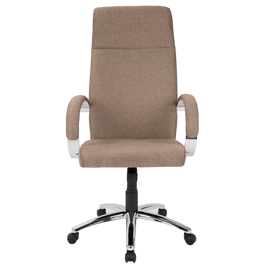 Allegra Brown Contemporary Office Chair