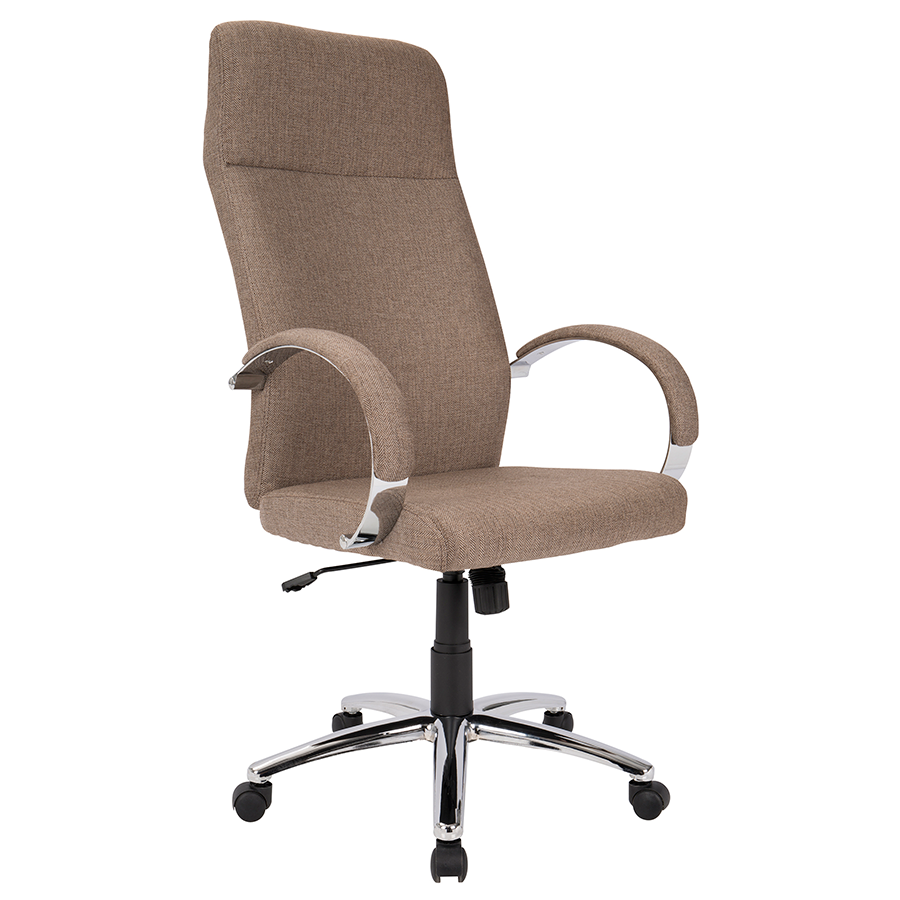 Allegra Brown Modern Office Chair
