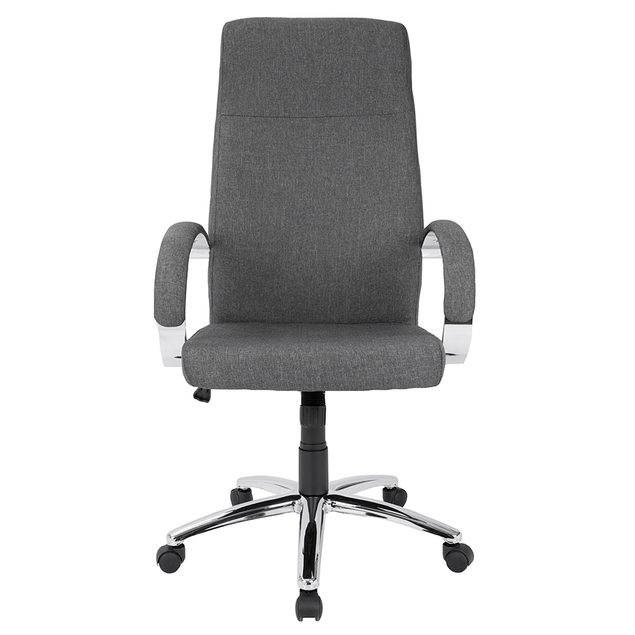 Allegra Gray Contemporary Office Chair