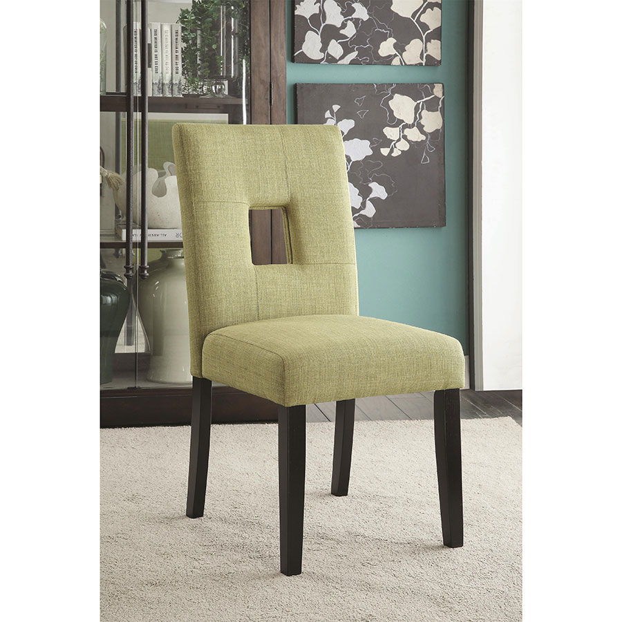 Alyssa Green Contemporary Dining Chair