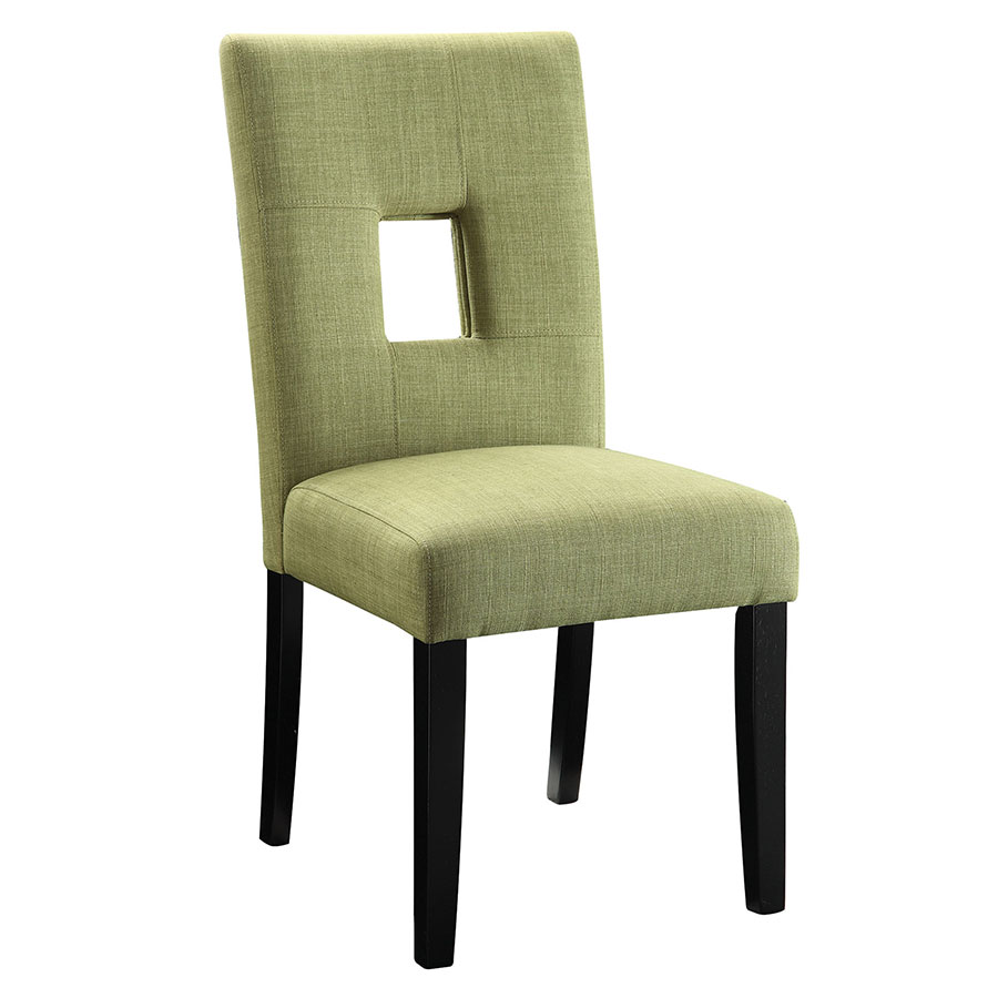 Alyssa Modern Dining Chair in Green