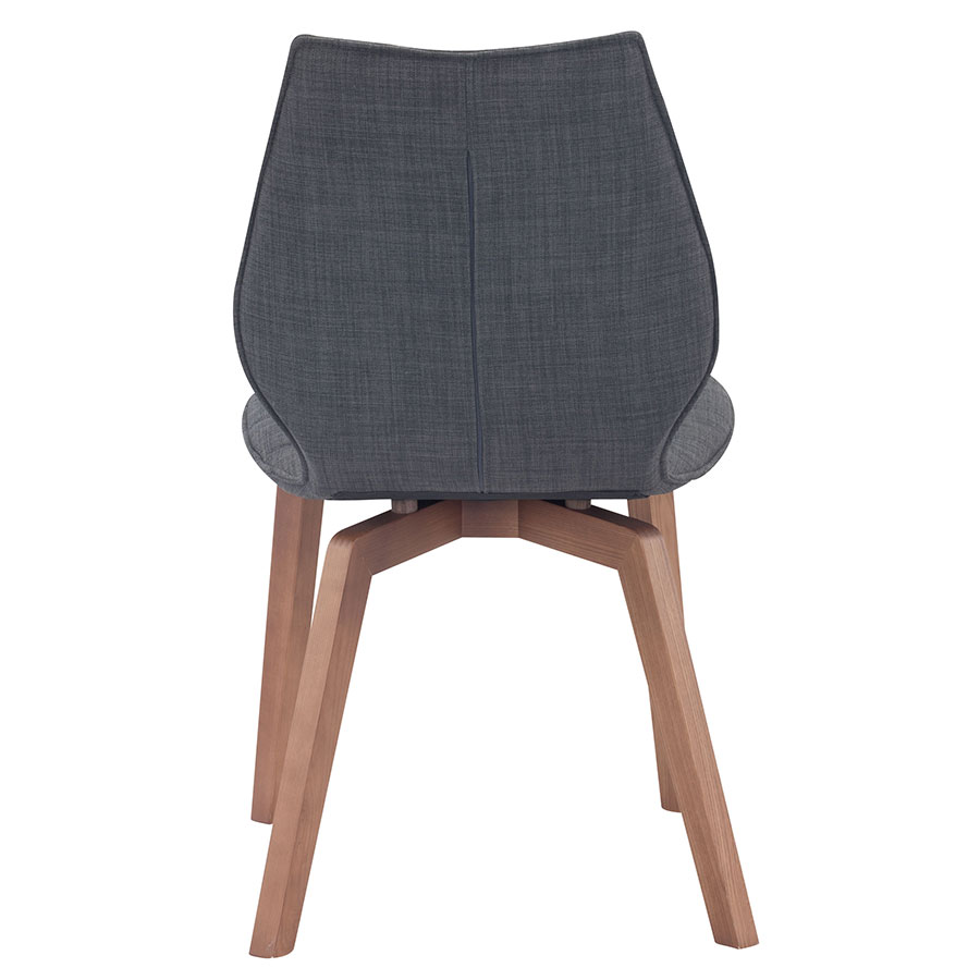 Aranda Graphite Contemporary Dining Chair