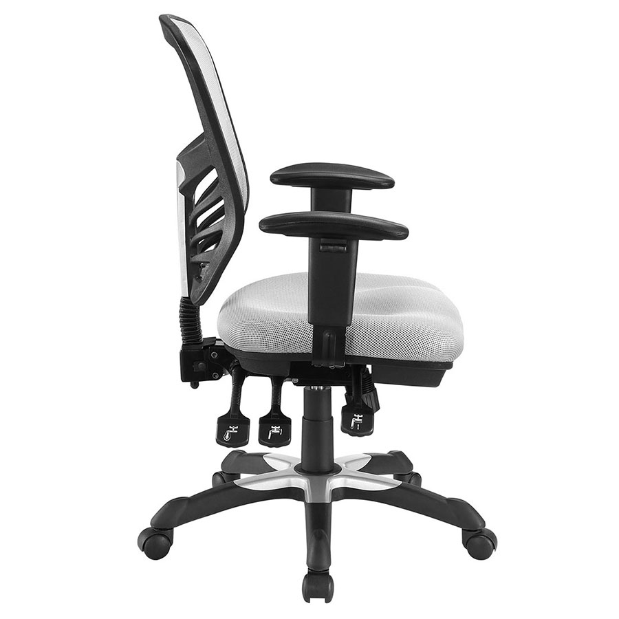 Arbon Gray Contemporary Office Chair