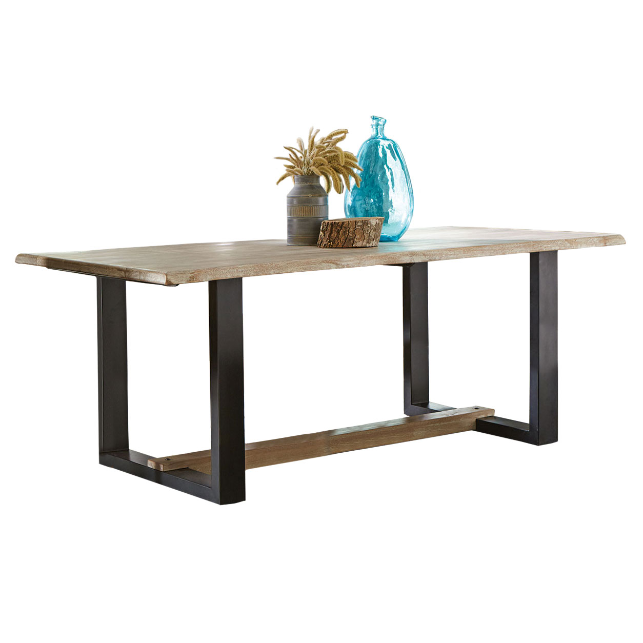 Arnold Modern Free Edge Dining Table