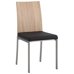 Auckland Modern Dining Chair in Light Oak