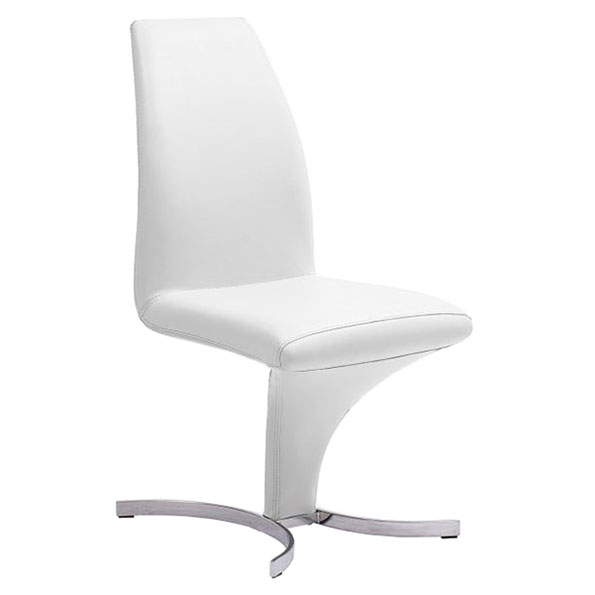 Augusto Contemporary White Dining Chair