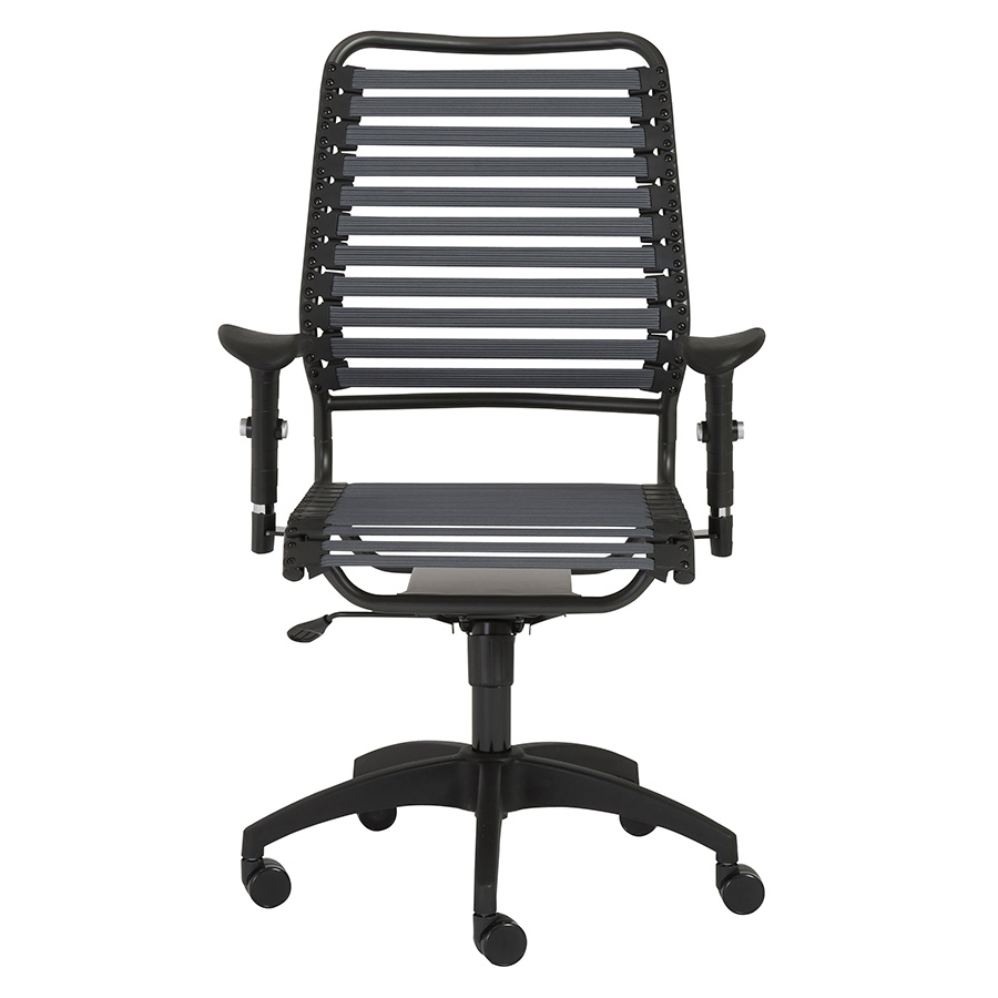 Baba Dark Gray High Back Modern Office Chair