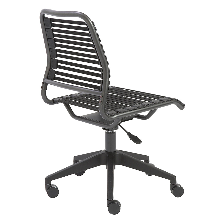 Baba Black Modern Task Chair