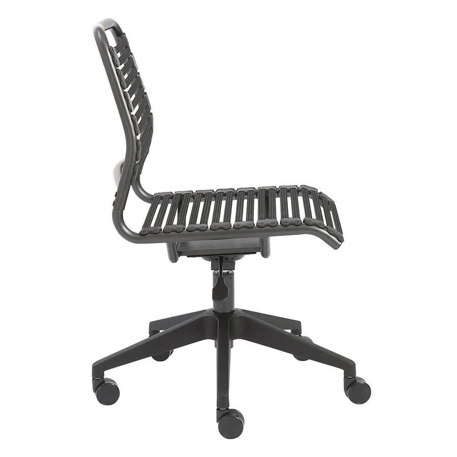 Baba Black Contemporary Task Chair