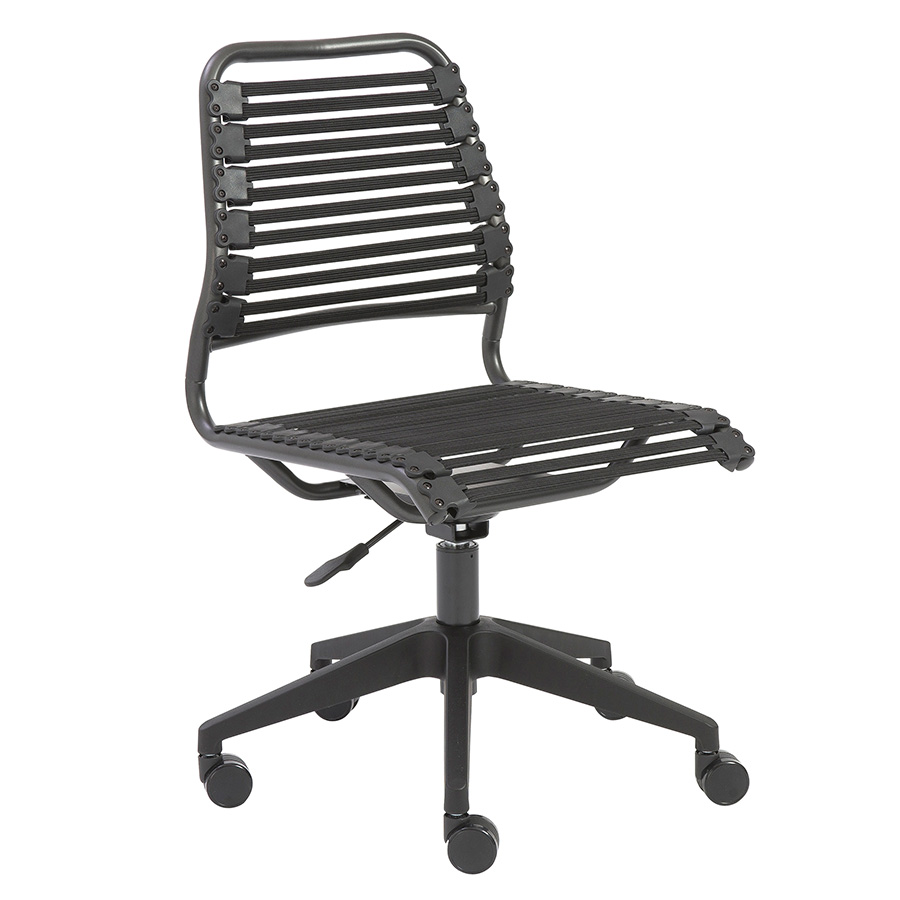 Baba Black Modern Office Chair