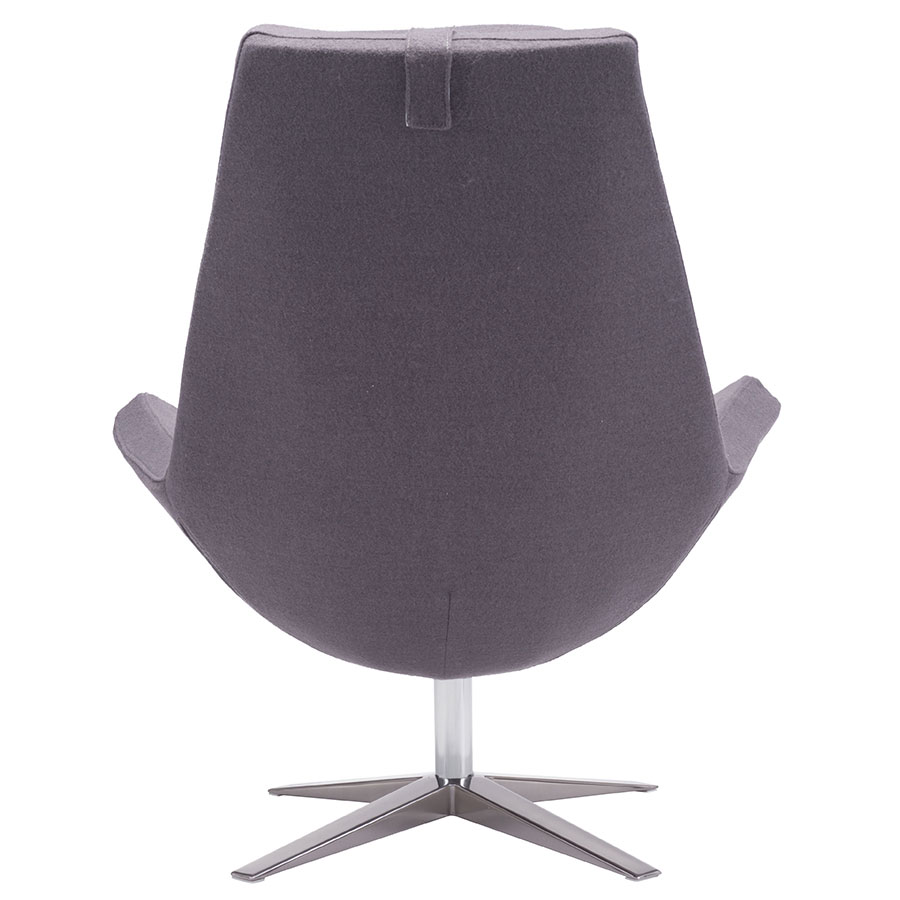 Bakir Gray Contemporary Lounge Chair
