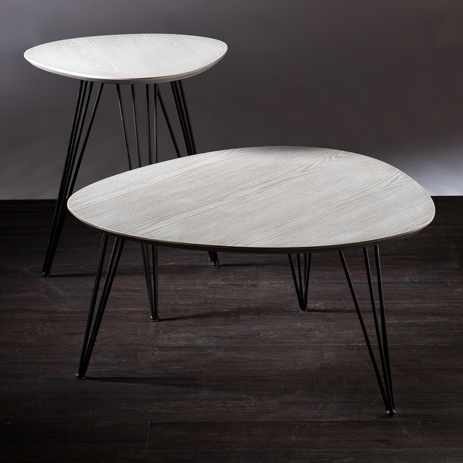 Banno Modern Cocktail Table + End Table