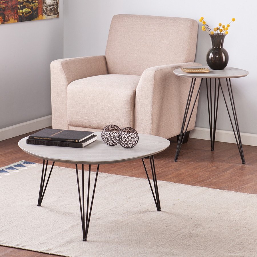 Banno Modern Cocktail/End Table Set : Eurway Furniture