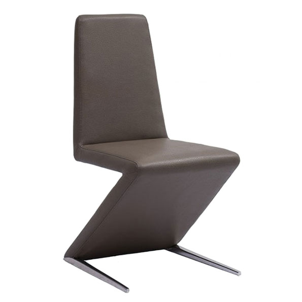 Basilio Contemporary Gray Dining Chair