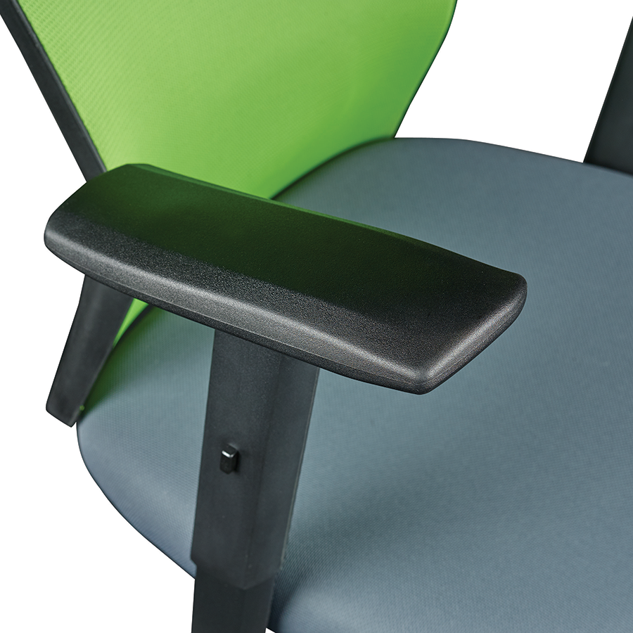 Belma Green Contemporary Office Chair Detail