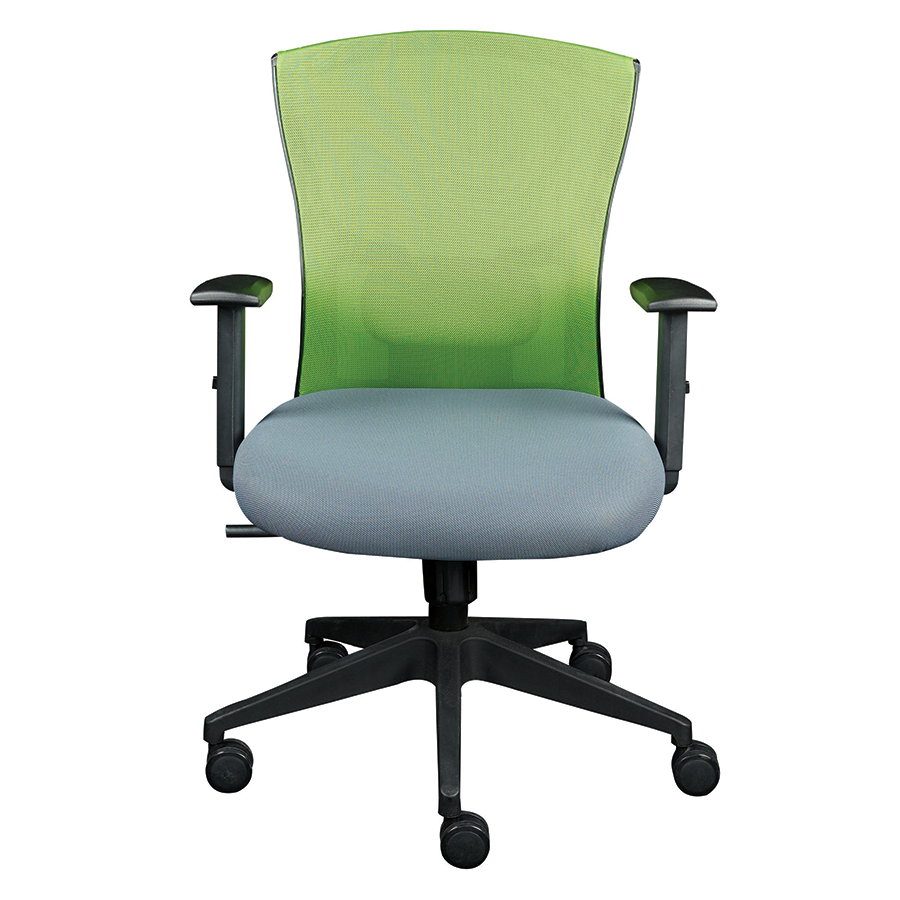 Belma Green Contemporary Office Chair