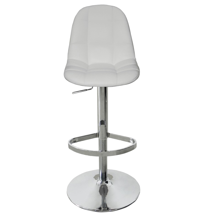 Benjamin White Contemporary Adjustable Height Stool