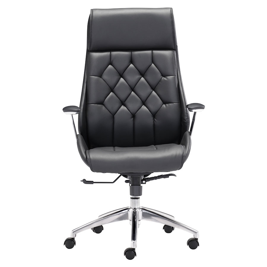 Benoit Black Contemporary Office Chair