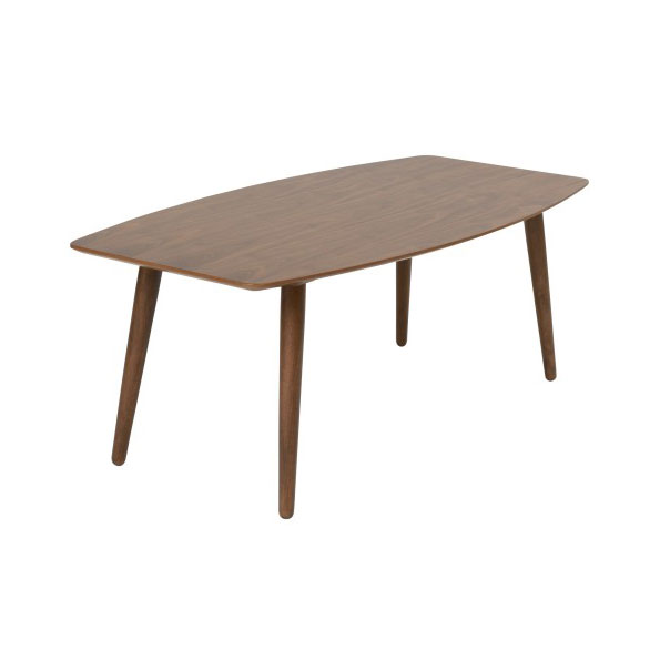Bernard American Walnut Modern Coffee Table