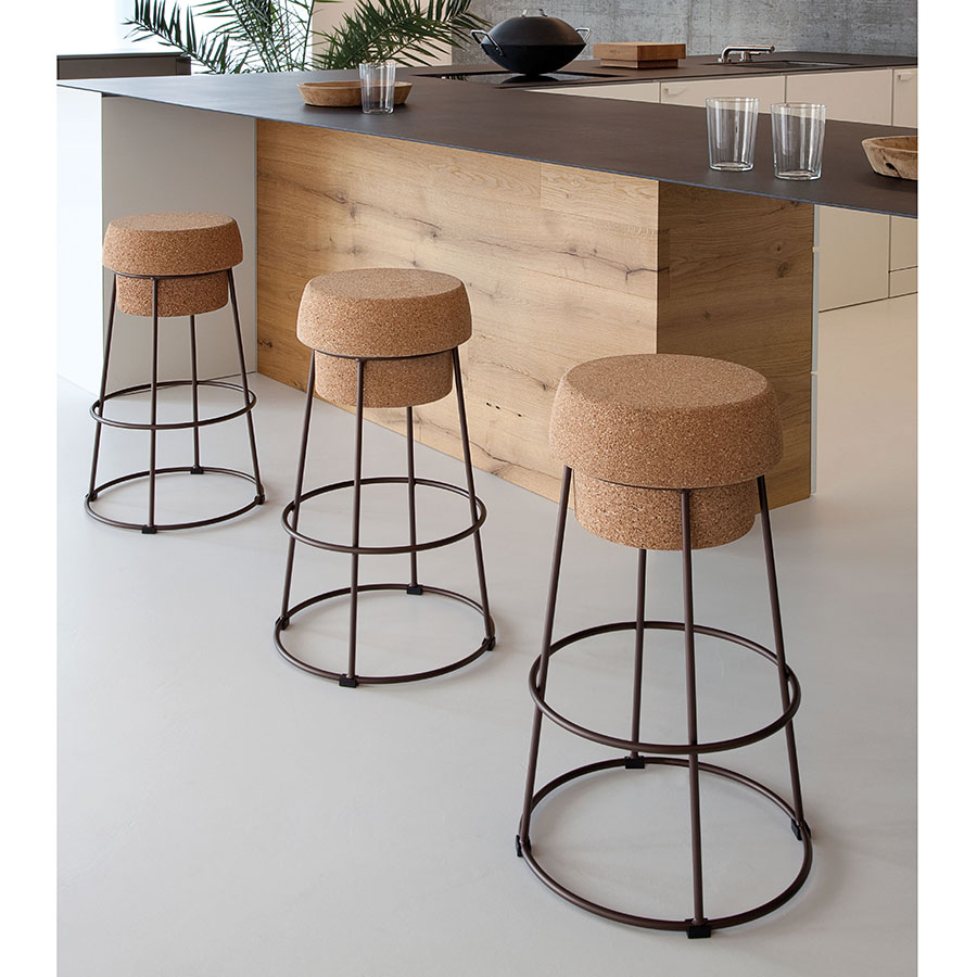 Beth Rust Contemporary Counter Stool