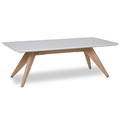 Bethany Modern Natural Ash Wood Coffee Table