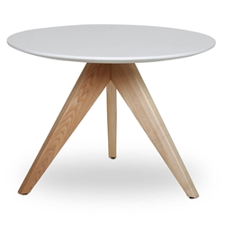 Bethany Modern Natural Ash Wood End Table