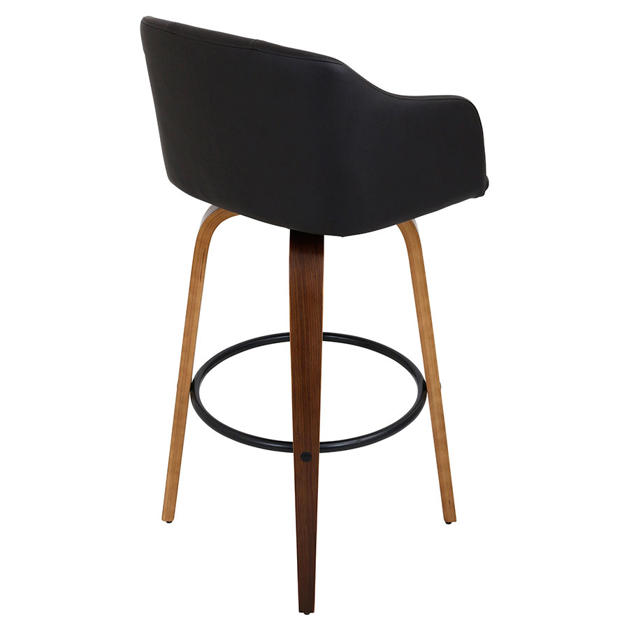 Binary Contemporary Mid-Century Style Bar Stool