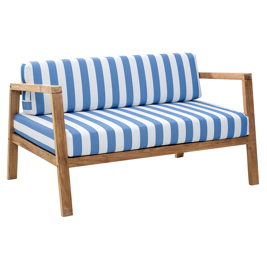 Blondie Striped Modern Outdoor Sofa