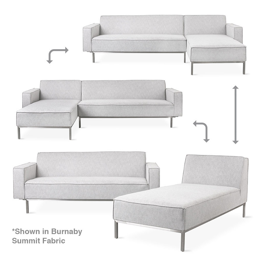 Gus Modern Burnaby Multi-Sectional Sofa Options