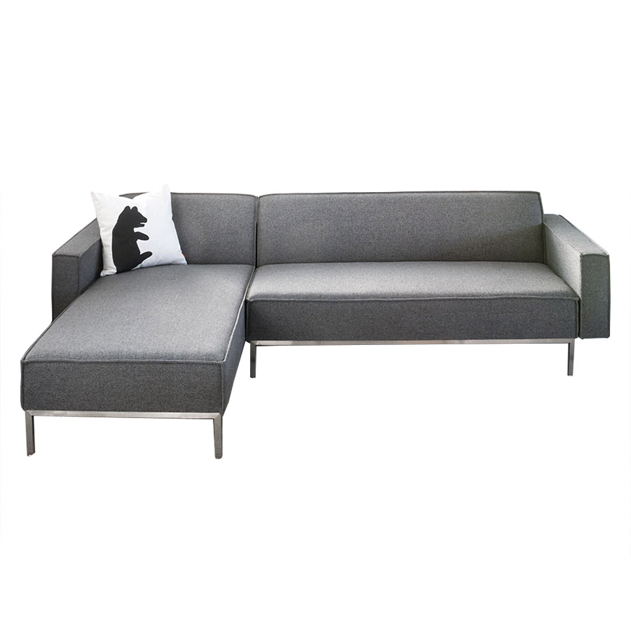 Bolton Multi-Sectional Sofa in Varsity Charcoal