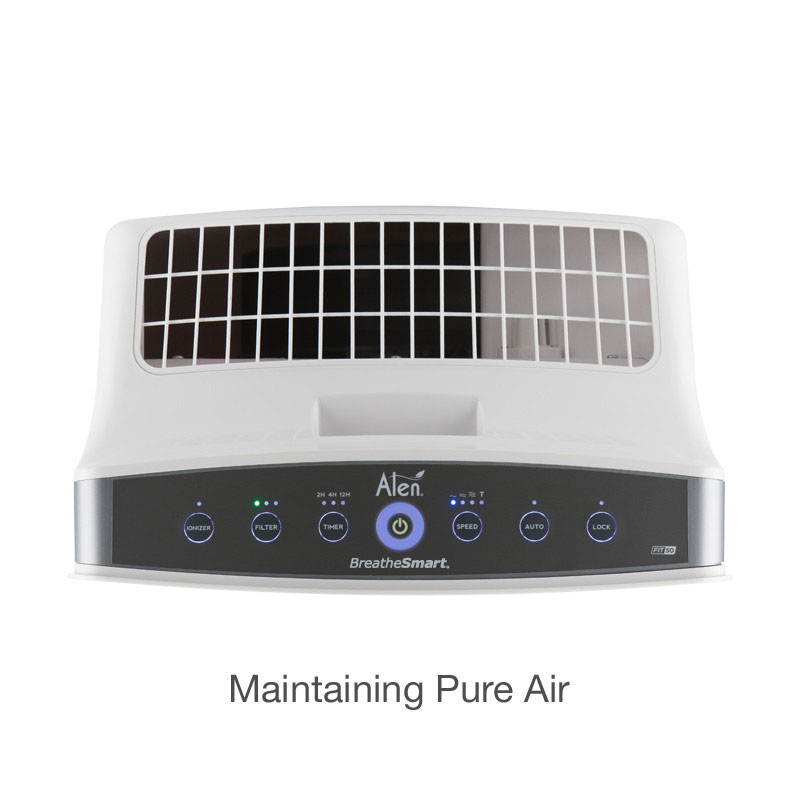Alen BreatheSmart FIT50 HEPA Air Purifier - Controls