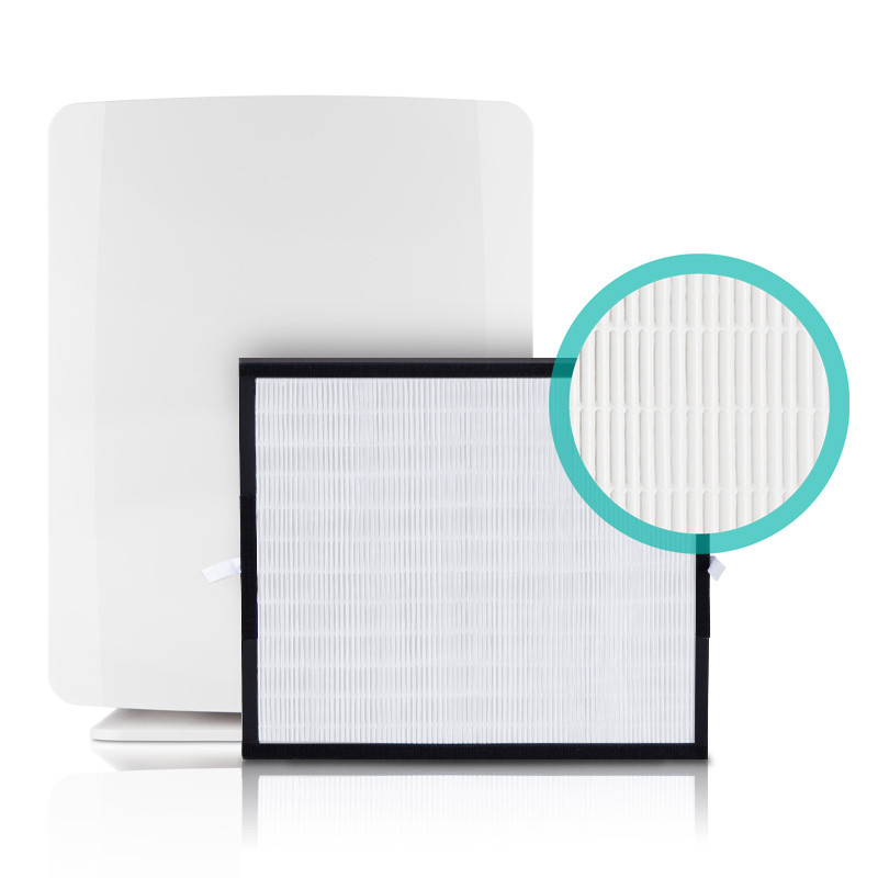 BreatheSmart Fit50 Air Purifier shown with a Pure Filter